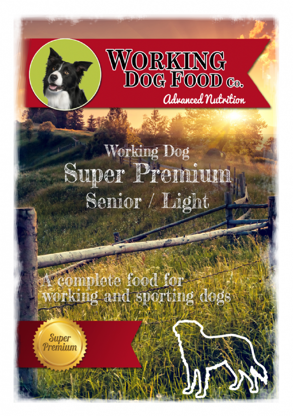 Super Premium Hypoallergenic Senior Light Rice & Fish Meal, Complete Dry Dog Food